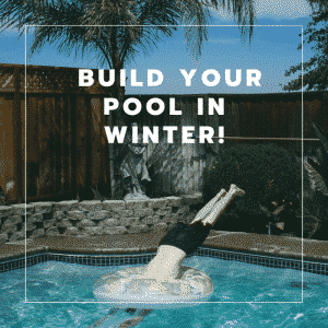 build your pool in winter Perth